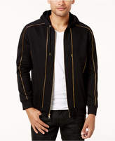 INC International Concepts Men's Gold Piping Hoodie, Created for Macy's