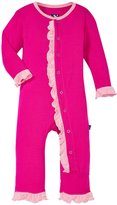 Kickee Pants Ruffle Coveralls (Baby) - Calypso-12-18 Months
