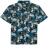 Stella McCartney Palm Tree-Print Cotton Shirt