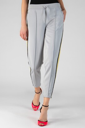 ATM Anthony Thomas Melillo French Terry Crochet Trim Pull-On Pants