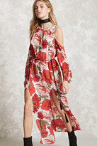 Forever 21 Contemporary Floral Maxi Dress