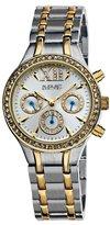August Steiner Women's ASA840TTG Crystal Multifunction Bracelet Watch