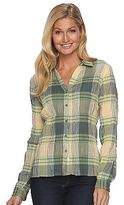 Woolrich Women's Carabelle Plaid Crinkle Shirt