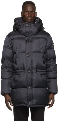Burberry Navy Down Lockwood Jacket