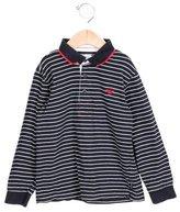 Armani Junior Boys' Striped Collared Shirt