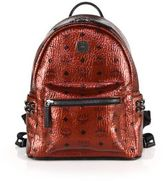 MCM Stark Side Stud Small Coated Canvas Backpack