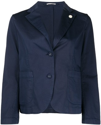 Lardini Single-Breasted Tailored Blazer