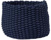 Baby Essentials Small Kneatly Knit Rope Bin (Dk. Blue)