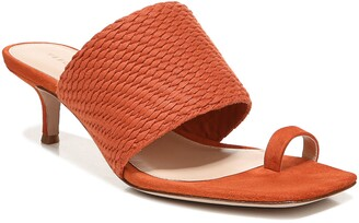 Veronica Beard Crenn Toe Loop Sandal