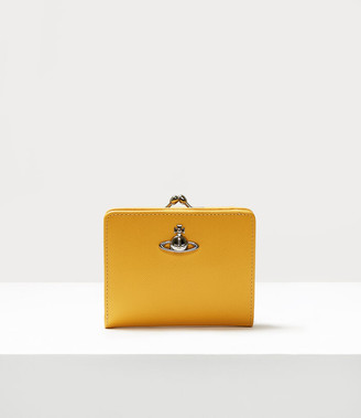Vivienne Westwood Pimlico Wallet With Frame Pocket Yellow