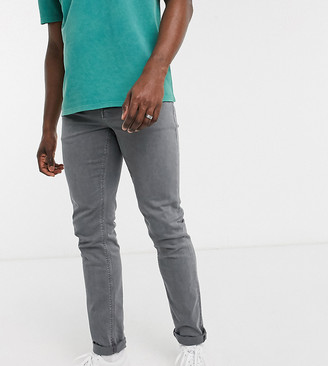 ASOS DESIGN Tall slim jeans in vintage gray