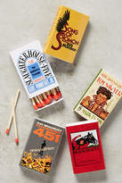 Out Of Print Novel Matchbook Set