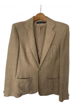 Ralph Lauren Camel Silk Jackets