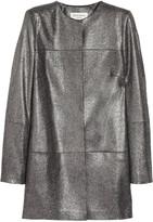 Helene Berman Metallic tweed coat