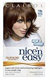 Clairol Nice 'n Easy with Color Blend Technology Permanent Color, Natural Medium Caramel Brown 118B 1 ea (Pack of 6)