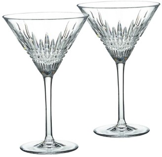 Waterford Lismore Diamond Martini Glass (Set Of 2)