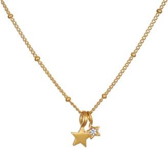 Satya Celestial Star White Topaz Necklace