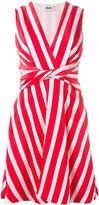 MSGM striped dress - women - Cotton/Viscose - 40