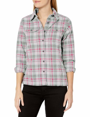 Wolverine Women's Redwood Two-Sided Brushed Flannel Shirt Jac