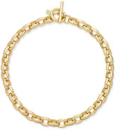 Lauren Ralph Lauren Gold-Tone Oval-Link Statement Necklace