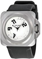 Converse Men's VR018090 Overtime Classic Analog and Black Silicone Strap Watch