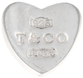 Tiffany & Co. Sterling Silver 1837 Heart Slider Charm Pendant