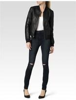 Paige Zoey Bomber Jacket - Black