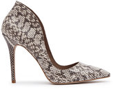 Reiss Ottavia Snakeskin Shoes