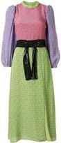 Olivia Rubin Seraphina dash print dress