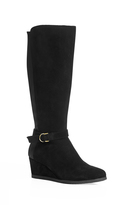 City Chic Dede Wedge Boot