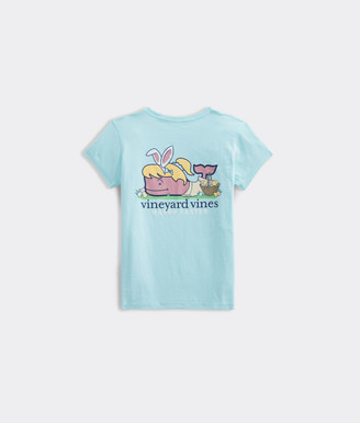 Vineyard Vines Girls' Easter Short-Sleeve Tee