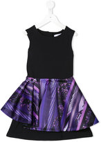 Versace layered skirt dress