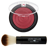Laura Geller Baked Gelato Vivid Swirl Blush with Brush