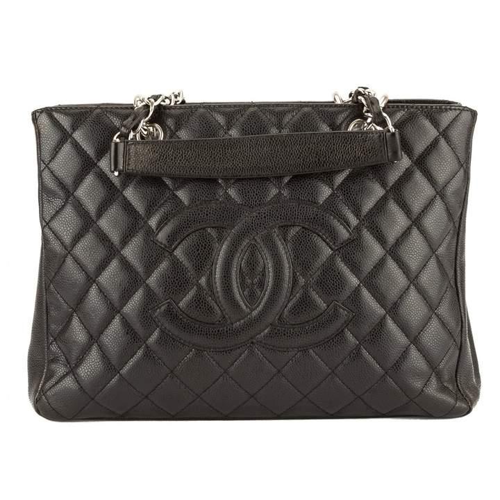 Chanel Grand shopping leather handbag