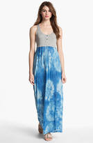 Vince Camuto Two by Tie Dye Racerback Maxi Dress