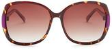Cole Haan Women&s Polarized Oversize Sunglasses