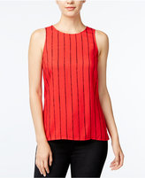 Kensie Striped Sleeveless Top