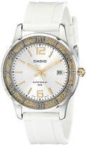 Casio Women's LTP1359-9AV Silver-Tone Glitter-Bezel Watch