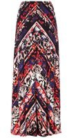 Dorothy Perkins Womens *Roman Originals Multi Colour Maxi Skirt- Multi Colour