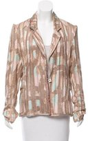 Christian Lacroix Knit Button-Up Blazer w/ Tags