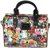 Loungefly Alice In Wonderland Character All Over Print Duffle Bag