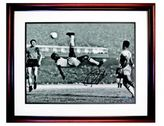 Steiner Sports Pele Autographed '1965 Bicycle Kick Close Up' Framed Photograph