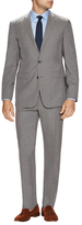 Vince Camuto Wool Sharkskin Notch Lapel Suit