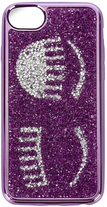 Chiara Ferragni Flirting glitter iPhone 7 case
