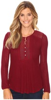 Lucky Brand Drop Needle Knit Top