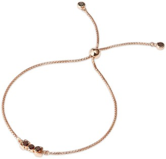 Tsai X Tsai San Shi Garnet Bracelet 18 Ct Rose Gold Vermeil