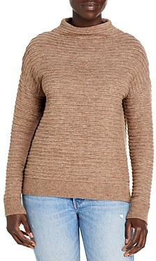 BeachLunchLounge Tylee Ribbed Mock Neck Sweater