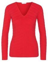 Hugo Boss Faizah Ottoman V-Neck Sweater Spink