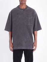 Yeezy Rugby oversized cotton-jersey t-shirt
