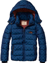 Scotch & Soda Polka Dot Puffer Jacket